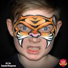 eye friendly tiger mask step by step by annabel hoogeveen