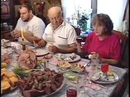 Mini meatloaves stuffed with egg. Polish Easter Dinner With The Lesko Family Of Comins Michigan Youtube