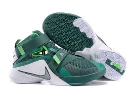 lebron 9 shoes. cheap nike lebron soldier 9 white green grey shoes