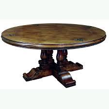 antique cherry 6 round fleur de lis 4 baer table