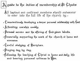 st chad s chelsea parish vision click here duties of membership