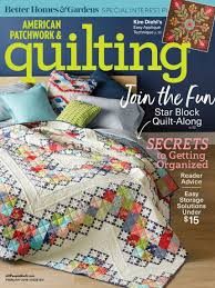 American Patchwork & Quilting February 2018 | AllPeopleQuilt.com & February 2018 Adamdwight.com