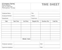 Employee Weekly Time Sheet Timesheets For Employees Timesheet For Employee