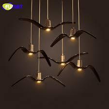 seagull pendant lighting. fumat seagull pendant lights nordic industrial hanging lamps dinning room suspension light bar kitchen resin lighting