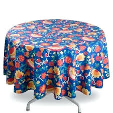 round cotton tablecloth linen paper for south africa tag majolica fl print round cotton tablecloth
