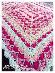 Ravelry Patterns Adorable Ravelry Rectangular Shell Blanket Pattern By Miranda Baak