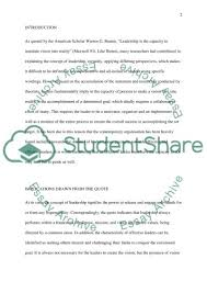 leadership quote essay example topics and well written essays leadership quote essay example