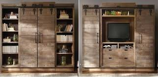 open the barn doors for an entertainment center and close them for a bookshelf brilliant home design garden architecture magazine