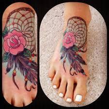 Dream Catcher Foot Tattoo 100 Dreamcatcher Tattoos Dreamcatcher tattoos and Tattoo 64
