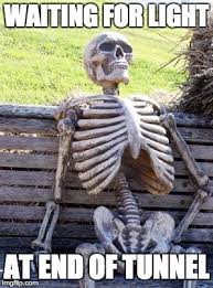 Waiting Skeleton Meme - Imgflip
