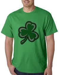 Small Picture Flashing Light Up Shamrock Mens T shirt Irish Kelly Green