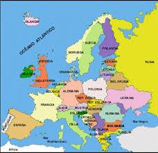 Conheça os países pertencentes em cada área e leia ainda algumas curiosidades sobre esse continente. Mapa De Europa Sin Capitales 3 Didactalia Material Educativo