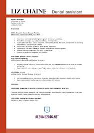 Beautiful Resume Examples For Dental Assistants 4 Dental Assistant