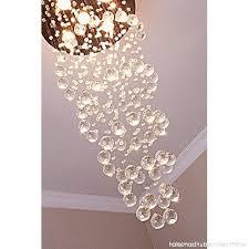 saint mossi chandelier modern k9 crystal raindrop chandelier lighting flush mount led ceiling light fixture pendant