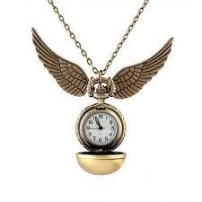 antique harry potter golden snitch pocket watch necklace pendant watch zapals com