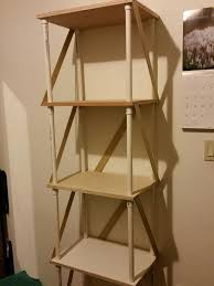 Pvc Pipe Bookshelf Pvc Bathroom Shelf 11 Steps With Pictures