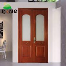 glass insert china double veneer door