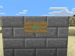 how to make a stone fence in minecraft. Introduction: How To Get Coloured Text In Minecraft PE Make A Stone Fence