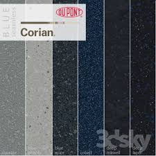 dupont corian kitchen countertops blue 1