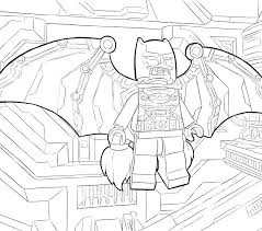 Lego Batman Coloring Batman Coloring Page Free Printable Coloring