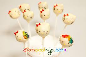 Hello Kitty Rainbow Cake Pops Dianacahyacom