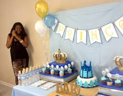 Blue And Gold Baby Shower Decorations 17 Best Images About Baby Shower Thiago On Pinterest Baby Shower