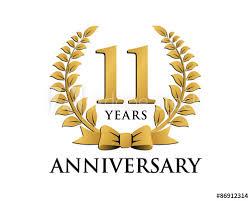 Anniversary Ribbon Anniversary Logo Ribbon Wreath 11 Buy This Stock Vector And