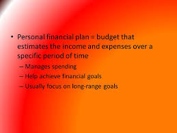 Financial Responsibility And Money Management Personal