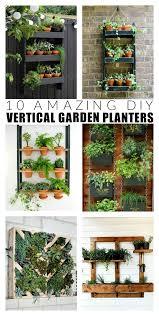 diy vertical garden ideas