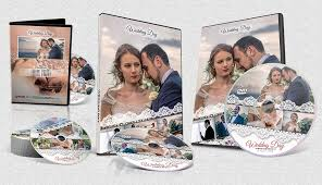 wedding dvd and bluray cover template psd