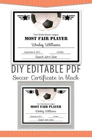 Free Soccer Certificate Templates Free Printable Soccer Certificate Templates Editable Pdf