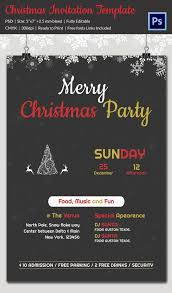 Printable Holiday Party Invitations 20 Christmas Party Templates Psd Eps Vector Format Download