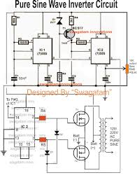 500va pure sine wave inverter circuit Sine Wave Inverter Circuit Diagram the above 500va pure sine wave inverter circuit could be even more enhanced using an automatic output correction feature as indicated below sine wave inverter circuit diagramusing 555