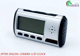 long time recording alarm clock wifi 1080p clock ip