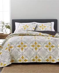 bedding with fleur de lis pattern.  Bedding At Macyu0027s  Martha Stewart Collection Cotton Reversible FleurDeLis  FullQueen Quilt Created With Bedding Fleur De Lis Pattern E