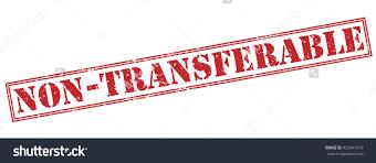 nontransferable stamp stock illustration 422641639 shutterstock non transferable stamp