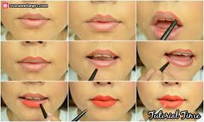 drawn lips lip liner 14