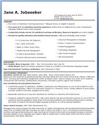 Student Teaching Resume Examples Lawteched