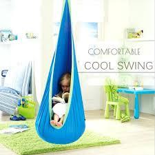 hanging hammock swing chair outdoor children hammock swing household inflatable hammock cushion garden swing chair indoor hanging hammock swing chair