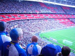 Image result for bristol city fans at wembley