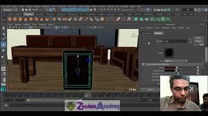 maya tutorial 31 in urdu hindi modeling and texturing a living room in maya 2016 part 2