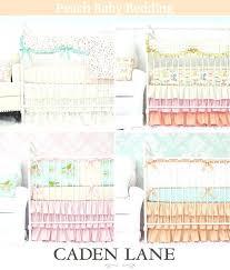 peach nursery bedding peach crib bedding perfect for the girls peach and mint nursery bedding