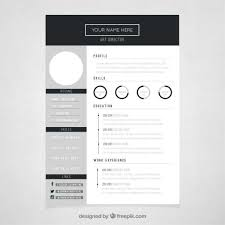 Wonderful Creative Resume Formats Templates Simple Cool For Your Psd ...