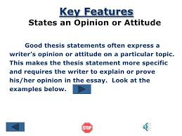 Writing a Thesis Statement I Help to Study