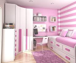 Small Pink Bedroom Bedroom Small Modern Teenage Girls Design In Pink Color For With