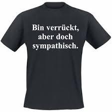 Bin Verrückt Aber Doch Sympathisch Coole Lustige Sprüche T Shirts