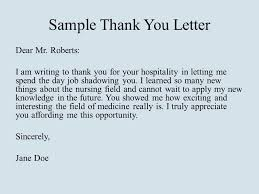 Thank You Letter Message Brrand Co