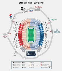 Steelers Seating Chart With Rows Heinz Field Seat Map Breakdown Of The Heinz Field Seating