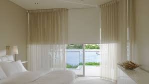 I Like The Practicality Of Roller Blinds With A Sheer Curtain For Window Blinds And Curtains