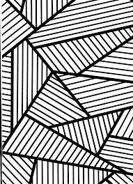 Coloring: Geometric Shapes & Patterns